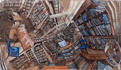 La bibliothèque idéale de Doriane Mazari dans Bibliothèques idéales rorik-smith